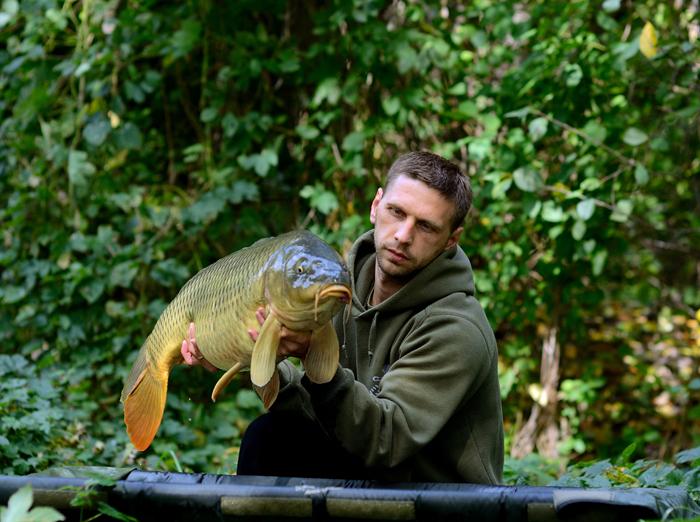 Стас Погорелый на рыбалке