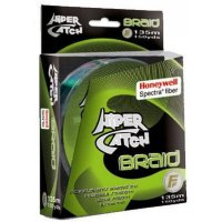 Шнур Lineaeffe Hiper Catch Spectra Braid 135м 0,10мм Light Grey