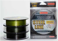 Шнур Bratfishing Steel Line 125m 0,15mm 10,10 kg