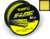 Шнур Black Cat S-Line yellow 450m 70kg