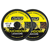 Ледкор D.A.M. Mad Touchdown Lead Core 5m 45lb (camou weed)