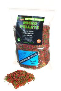 Пеллетс Technocarp Method Feeder Micro Pellets Squid mix 750g