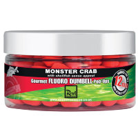Бойлы Rod Hutchinson Monster Crab Fluoro Dumbell Pop Ups 12mm 60g