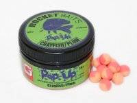 "Мини-бойлы Rocket Baits Pop Up КОМБИ ""Crayfish/Plum"" 10 mm 25g"
