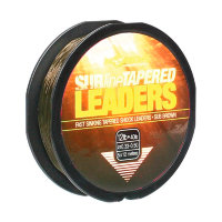 Шок лидер Korda Subline Tapered Leader 0.28-0.50mm Brown 5x12m