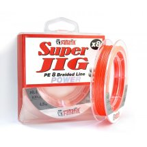 Шнур Fanatik Super Jig PE X8 120 m Orange