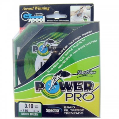 Шнур Power Pro Moss Green 0.23mm