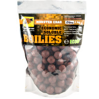 Пылящие бойлы CC Baits Economic Soluble Monster Crab 20мм 1кг