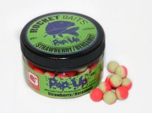 "Мини-бойлы Rocket Baits Pop Up КОМБИ ""Strawberry/Bergamot"" 10 mm 25g"