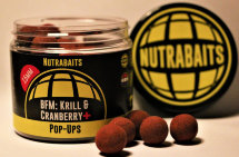 Бойлы Nutrabaits BFM Krill & Cranberry Pop Ups 12mm