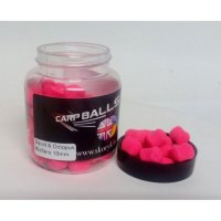 Бойлы Carpballs Wafters Squid Octopus&Strawberry Jam 10mm