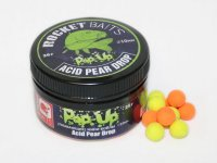 Мини-бойлы Rocket Baits Pop Up «Acid Pear Drop» (CC Moore) 10 mm
