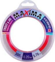 Леска Dragon Maxima Trout&Jig 300m 0.25mm 7.70kg