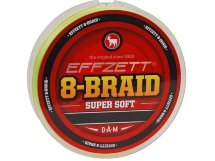 Шнур DAM Effzett 8-Braid 125m yellow