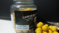 Бойлы Carpballs Wafters Green Pea Drop 10mm