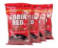 Пеллетс Dynamite Baits Robin Red Carp Pellets 8mm (Pre-Drilled)