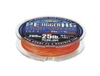 Шнур Sunline PE Jigger HG Light Special 200m 0.205mm 25Lb