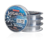 Леска Bratfishing Megalon Leader Line 0.18 mm 5,10kg 30m