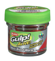 Насадка силиконовая Berkley Gulp! Alive Maxi Bloodworm Red