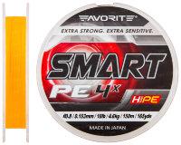 Шнур Favorite Smart PE 4x 150м (оранжевый)