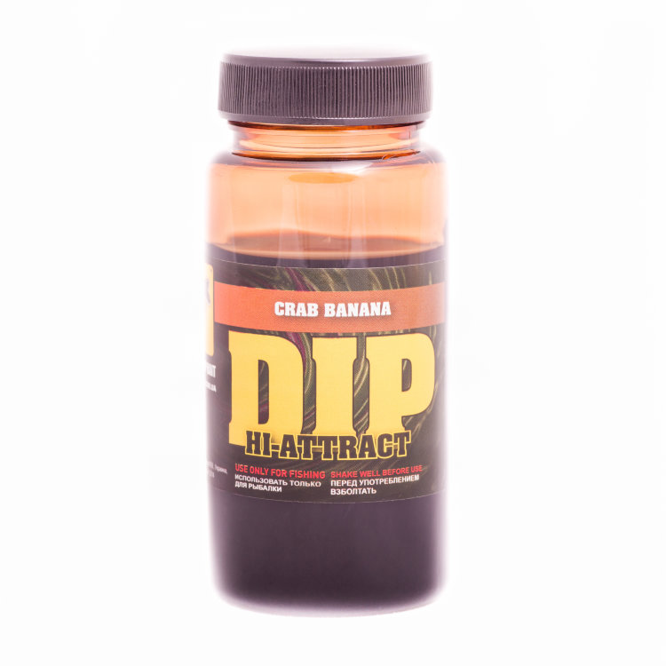 Дип CC Baits Hi-Attract Dip Crab Banana, 100ml