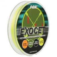 Шнур для спода и маркера Fox Exocet Yellow 23lb/10,4kg 0,18 mm 300 m