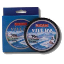 Волосінь Bratfishing Vivi Ice 30m 0,16mm 3,60kg