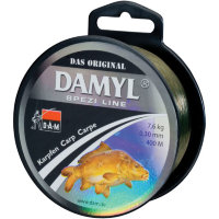Леска D.A.M. Spezi Line Carp 0,30mm 400m 7,6kg (silt-brown)