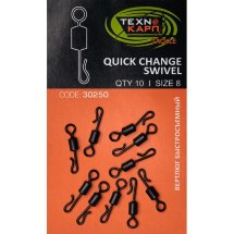 Вертлюг Texnokarp Quick Change Swivel 8 (10ps)