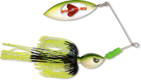 Спиннербейт Black Cat Big Spinner Bait black wave