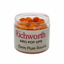 Бойли Richworth Airo Pop-ups Plum Royale, 15 mm, 80g