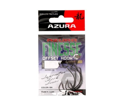 Крючки Azura Finesse Offset Hook №1