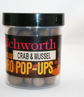 Бойли Richworth Airo Pop-ups Crab&Mussel, 14 mm, 80g