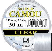 Волосінь Dragon Super Camou Clear 30m 0.12mm 2.30kg