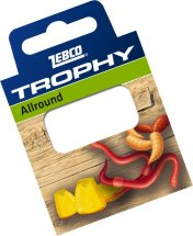 Готовиe повідці Zebco №12 Trophy Hooks to Nylon Allround 0,18mm 70см (10шт)