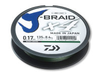 Шнур Daiwa J-Braid X4E 0,13mm 135m 5,9kg Dark Green