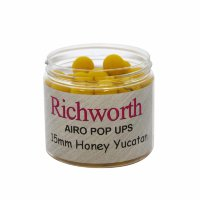 Бойлы Richworth Airo Pop-ups Honey Yucatan, 15 mm, 80g