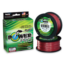 Шнур Power Pro Vermilion Red 0.10mm