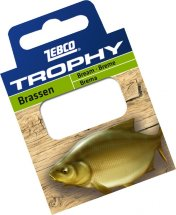 Готовиe повідці Zebco №12 Trophy Hooks to Nylon Bream 0,13mm 70см (10шт)