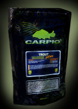 Пеллетс Carpio Trout Pellets 4,5 мм 900 гр