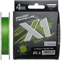 Шнур Favorite X1 PE 4x 150m (l.green)