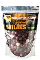 Пылящие бойлы CC Baits Economic Soluble Fish&Meat Mix, 16-24мм 1кг