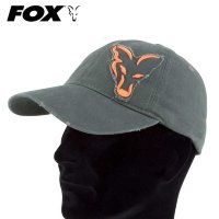 Кепка Fox Carp Chino Distressed Orange/Green Cap