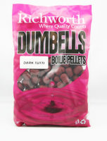 Бойлы Richworth Dumbell Boilie Pellets 14mm Dark Tutti, 400g