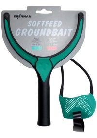 Рогатка Drennan Groundbait Caty Soft Feed (black/green)