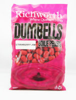 Бойлы Richworth Dumbell Boilie Pellets 14mm Strawberry Jam, 400g