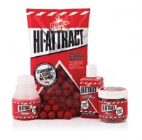 Бойлы Dynamite Baits Hi-Attract Strawberry & Scopex Nut Crunch 15 mm Pop Up