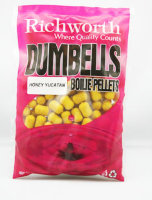 Бойлы Richworth Dumbell Boilie Pellets 14mm Honey Yucatan, 400g