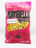 Бойлы Richworth Dumbell Boilie Pellets 14mm Pineapple Hawaiian, 400g