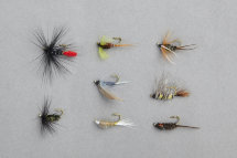 Мухи Balzer Wet Fly and Nymphs в наборе 8шт